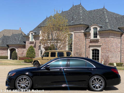 2020 Mercedes-Benz S-Class for sale at Mr. Old Car in Dallas TX