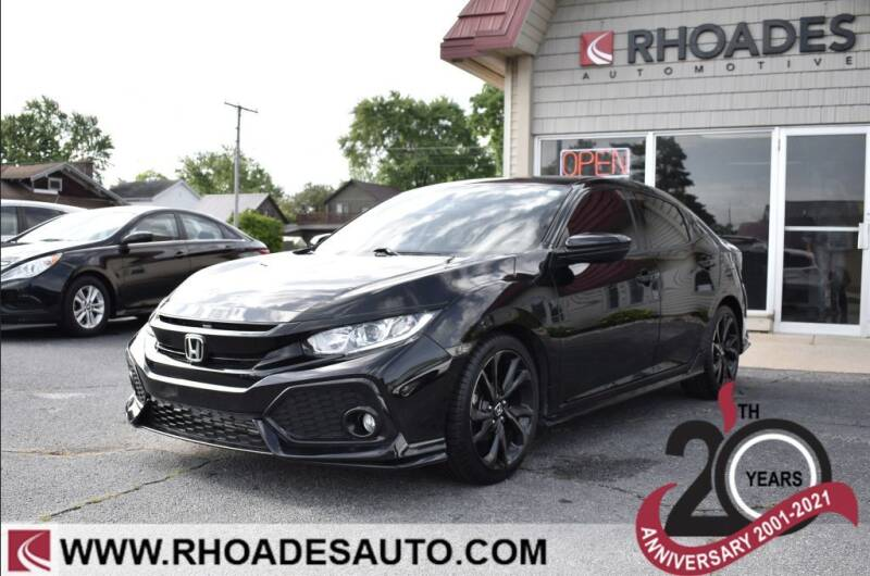 2018 Honda Civic for sale at Rhoades Automotive in Columbia City IN