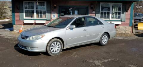 2005 Toyota Camry for sale at Village Car Company in Hinesburg VT
