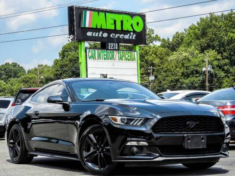 2015 Ford Mustang for sale at Metro Auto Credit in Smyrna GA
