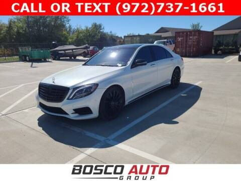 2014 Mercedes-Benz S-Class for sale at Bosco Auto Group in Flower Mound TX