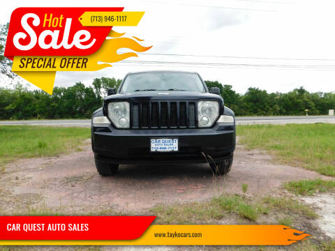 2011 Jeep Liberty for sale at CAR QUEST AUTO SALES in Houston TX
