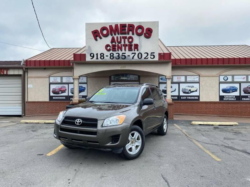2011 Toyota RAV4 for sale at Romeros Auto Center in Tulsa OK
