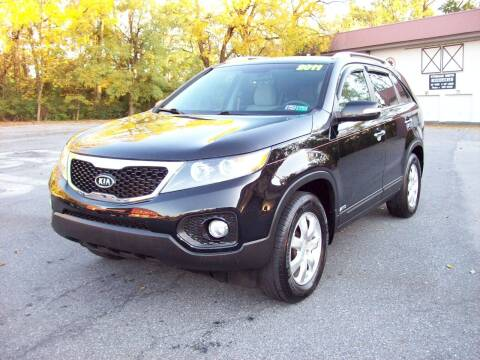 2011 Kia Sorento for sale at Clift Auto Sales in Annville PA