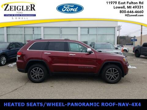 2020 Jeep Grand Cherokee for sale at Zeigler Ford of Plainwell- Jeff Bishop in Plainwell MI