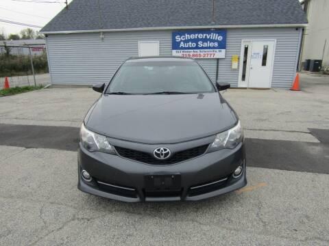 2012 Toyota Camry for sale at SCHERERVILLE AUTO SALES in Schererville IN