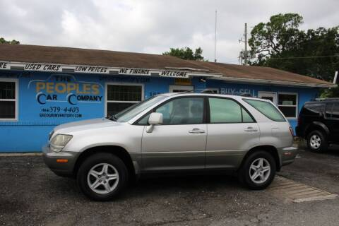 2000 Lexus RX 300 for sale at The Peoples Car Company in Jacksonville FL