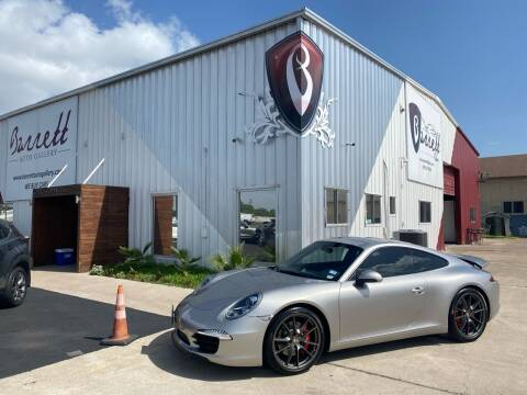 2013 Porsche 911 for sale at Barrett Auto Gallery in San Juan TX
