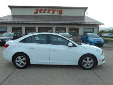 2015 Chevrolet Cruze for sale at Jerry's Auto Mart in Uhrichsville OH