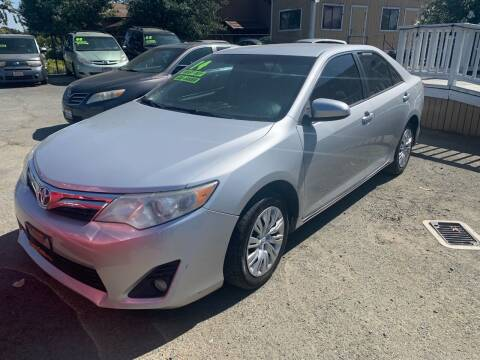 2014 Toyota Camry for sale at Contra Costa Auto Sales in Oakley CA
