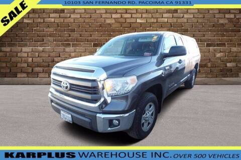 2015 Toyota Tundra for sale at Karplus Warehouse in Pacoima CA