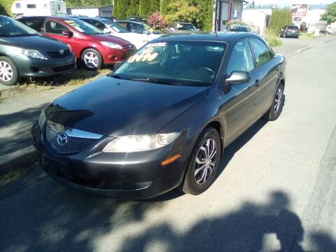 2005 Mazda MAZDA6 for sale at Payless Car & Truck Sales in Mount Vernon WA