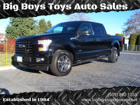 2017 Ford F-150 for sale at Big Boys Toys Auto Sales in Spokane Valley WA