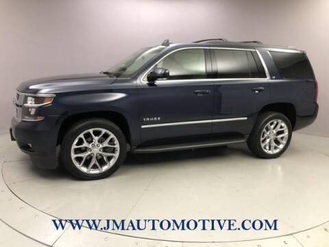 2017 Chevrolet Tahoe for sale at J & M Automotive in Naugatuck CT