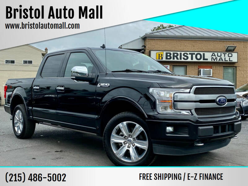 2019 Ford F-150 for sale at Bristol Auto Mall in Levittown PA