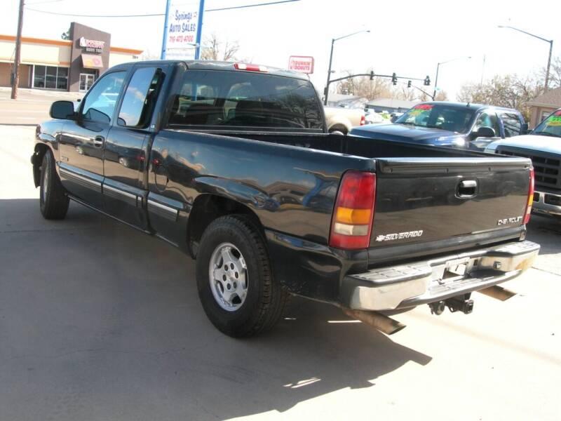 2001 Chevrolet Silverado 1500 4dr Extended Cab LS 2WD SB - Colorado Springs CO