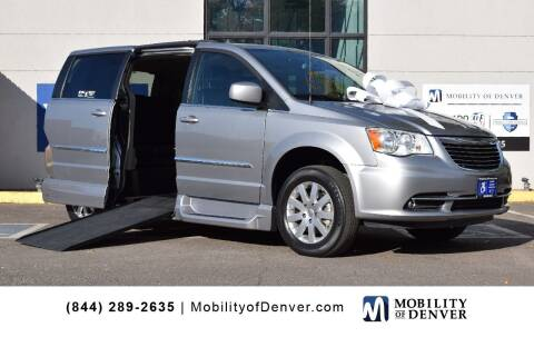 2016 Chrysler Town and Country for sale at CO Fleet & Mobility in Denver CO