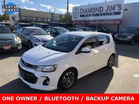 2019 Chevrolet Sonic for sale at Diamond Jim's West Allis in West Allis WI