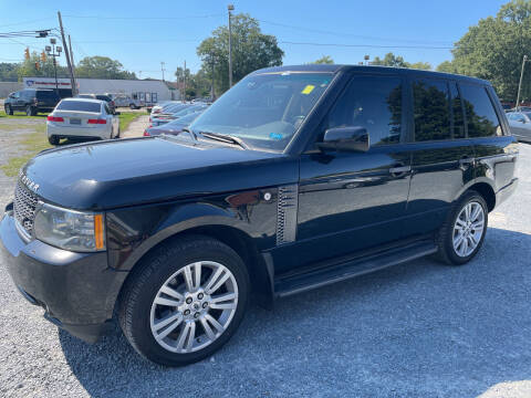 2011 Land Rover Range Rover for sale at LAURINBURG AUTO SALES in Laurinburg NC