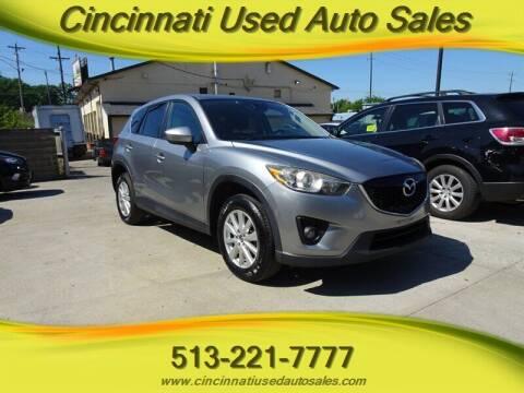 2014 Mazda CX-5 for sale at Cincinnati Used Auto Sales in Cincinnati OH
