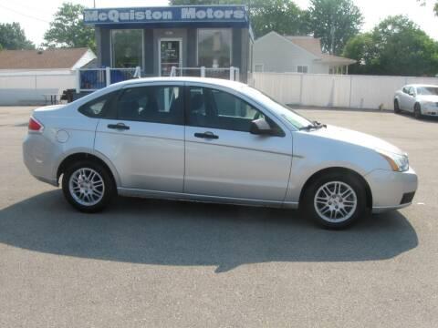 2011 Ford Focus for sale at MCQUISTON MOTORS in Wyandotte MI