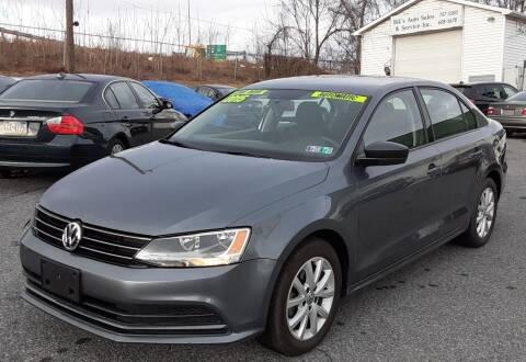 2015 Volkswagen Jetta for sale at Bik's Auto Sales in Camp Hill PA