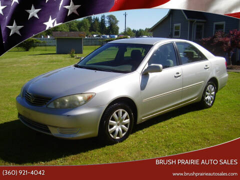 2005 Toyota Camry for sale at Brush Prairie Auto Sales in Battle Ground WA