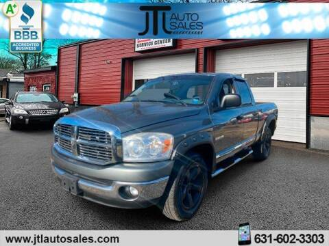2008 Dodge Ram Pickup 1500 for sale at JTL Auto Inc in Selden NY