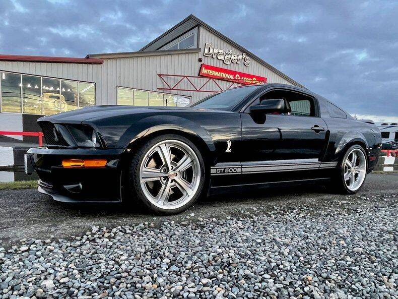 2007 Ford Mustang Shelby Cobra GT 500 for sale at Drager's International Classic Sales in Burlington WA
