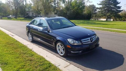 2012 Mercedes-Benz C-Class for sale at A.I. Monroe Auto Sales in Bountiful UT