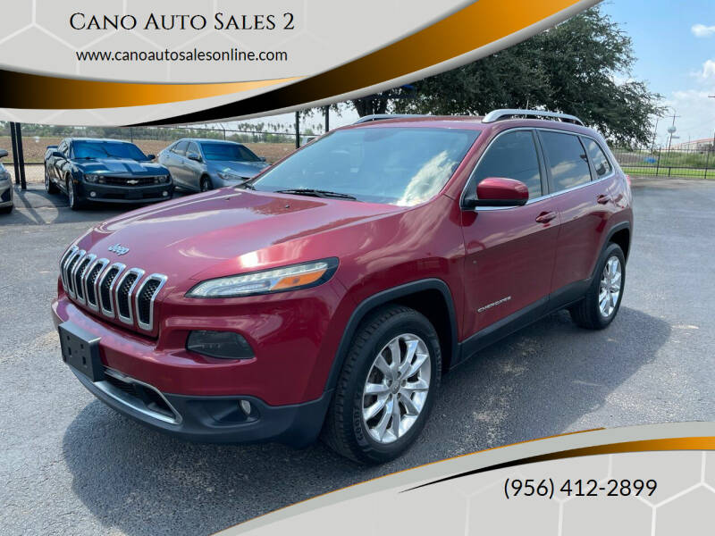 2016 Jeep Cherokee for sale at Cano Auto Sales 2 in Harlingen TX