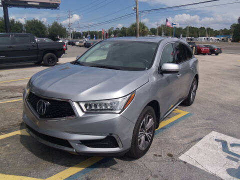 2018 Acura MDX for sale at ORANGE PARK AUTO in Jacksonville FL