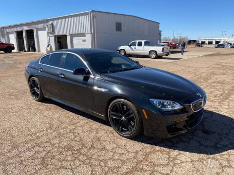 2015 BMW 6 Series for sale at STANLEY FORD ANDREWS in Andrews TX