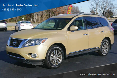 2013 Nissan Pathfinder for sale at Tarheel Auto Sales Inc. in Rocky Mount NC
