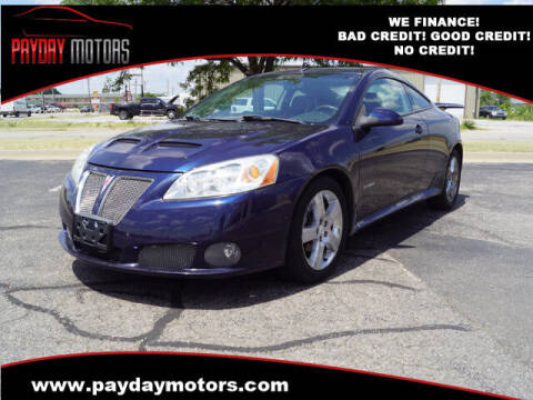 2008 Pontiac G6 for sale at Payday Motors in Wichita And Topeka KS