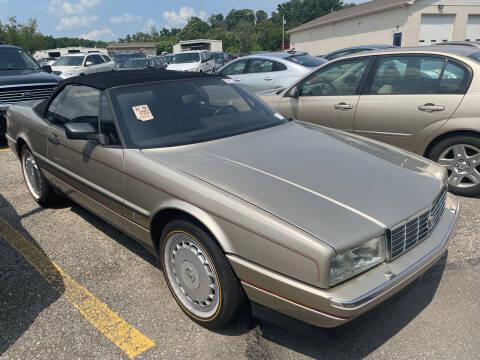 1991 Cadillac Allante for sale at Trocci's Auto Sales in West Pittsburg PA