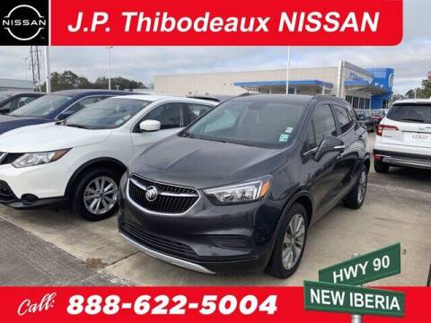 2017 Buick Encore for sale at J P Thibodeaux Used Cars in New Iberia LA