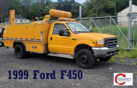1999 Ford F-450 Super Duty for sale at Webster Auto Sales Inc in Terryville CT