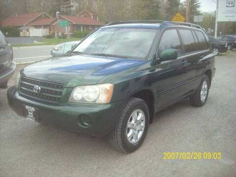 2003 Toyota Highlander for sale at Motors 46 in Belvidere NJ
