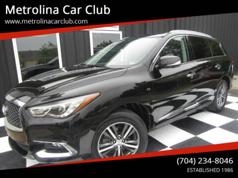 2017 Infiniti QX60 for sale at Metrolina Car Club in Matthews NC