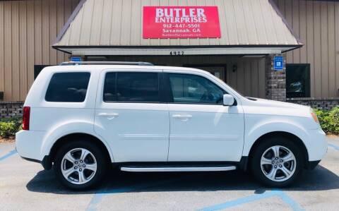 2013 Honda Pilot for sale at Butler Enterprises in Savannah GA