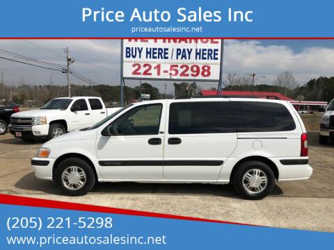 2004 Chevrolet Venture for sale at Price Auto Sales Inc in Jasper AL