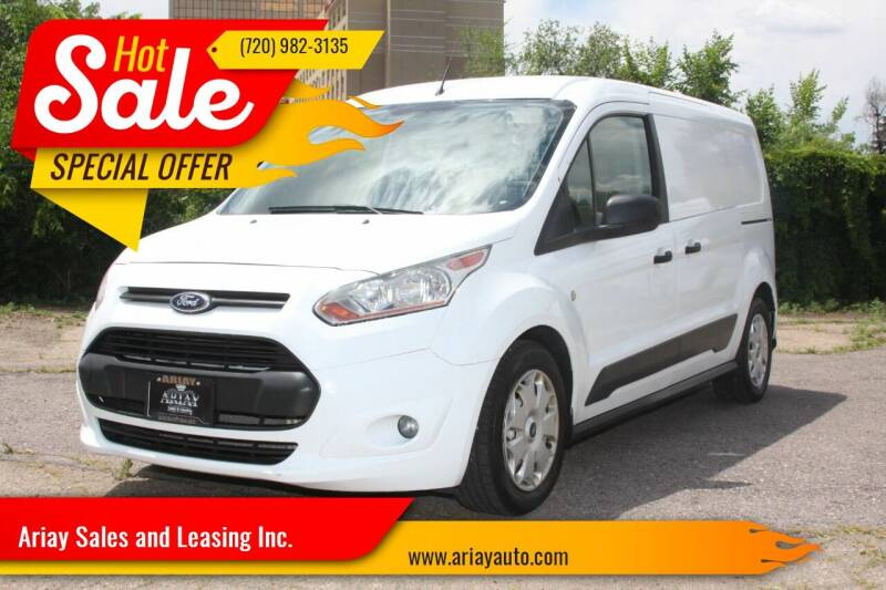 2014 Ford Transit Connect Cargo for sale at Ariay Sales and Leasing Inc. - Pre Owned Storage Lot in Denver CO