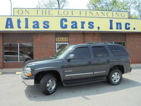 2003 Chevrolet Tahoe for sale at Atlas Cars Inc. - Elizabethtown Lot in Elizabethtown KY