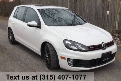 2010 Volkswagen GTI for sale at Pete Kitt's Automotive Sales & Service in Camillus NY