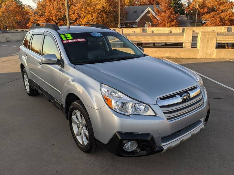 2013 Subaru Outback for sale at QC Motors in Fayetteville AR
