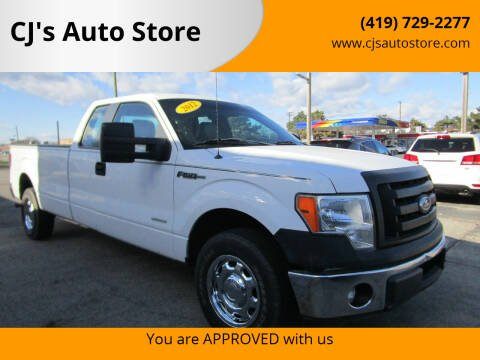 2012 Ford F-150 for sale at CJ's Auto Store in Toledo OH
