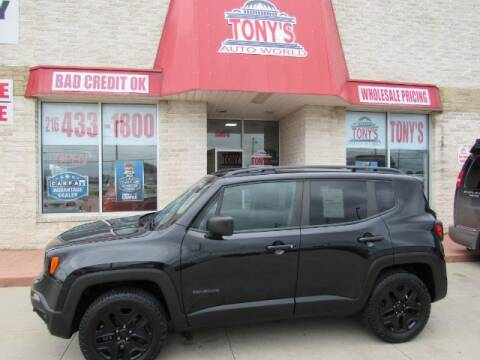 2018 Jeep Renegade for sale at Tony's Auto World in Cleveland OH