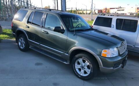 2003 Ford Explorer for sale at Downing Auto Sales in Des Moines IA