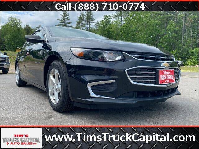 2017 Chevrolet Malibu for sale at TTC AUTO OUTLET/TIM'S TRUCK CAPITAL & AUTO SALES INC ANNEX in Epsom NH